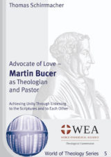 Cover Advocate of Love – Martin Bucer as Theologian and Pastor
