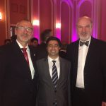 With Volker Beck, MP, and Daniyel Demir, President of the Federal Council of the Arameans