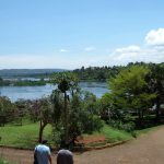 Jinja in Uganda lies at the source oft he (white) Nile (2006)