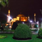 And yet other picture of the Hagia Sophia in Istanbul at night (March 2009)