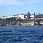 No place is more beautiful than on a ship crossing over to Istanbul - here with a view of the Topkapi Palace at the tip of Europe (March 2009)