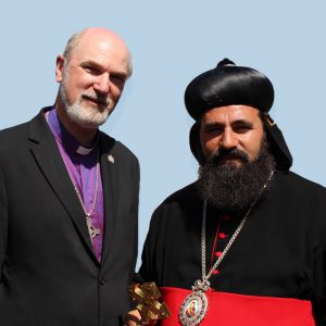 With the Syriac Orthodox Metropolitan of Damascus