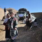 Our charity Giving Hands in relief work in Afghanistan