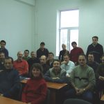The first Rumanian students in my sociology of religion course at the public University of Oradea on December 2, 2006