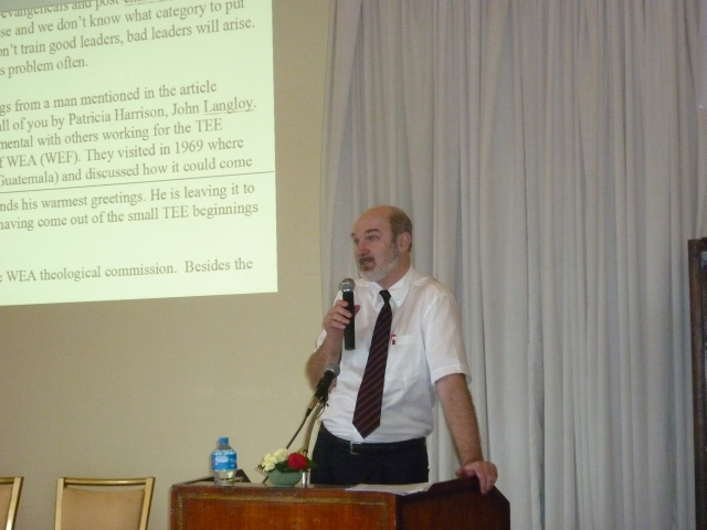 Special address to TEE-networks in Asia in Kathmandu, 2010
