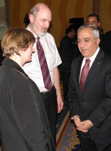 In conversation with the Prime Minister Salam Fayyad