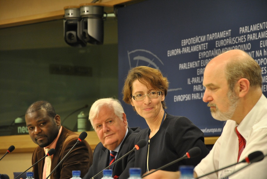 Brussels EU-Parliament Launch Global Charter of Conscience 2012