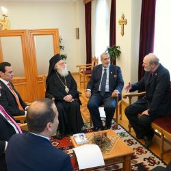 Archbishop Anastasios and the heads and members of the Royal House © BQ/Warnecke