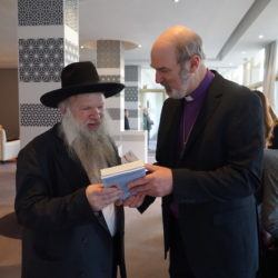 Jewish-Christian friendship in Rabat: Bishop Thomas Schirrmacher with Rabbi Herschel Gluck, chairman of the Arab-Jewish Forum © BQ/Warnecke