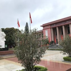 The main building of the university 'National Academy of Politics' with the Ho Chi Min statue © IIRF/Martin Warnecke