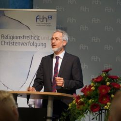 Christof Sauer at his lecture © Martin Warnecke/IIRF