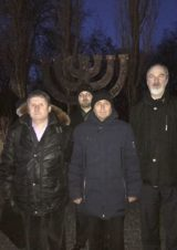 The International President of the IGFM visits the Memorial for the massacre of Jews and Roma people, carried out by German Armed Forces, in Kiev