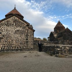 Two of Armenia's oldest churches, dating from the 4th century © BQ/Schirrmacher