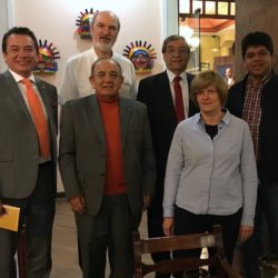 Thomas and Christine Schirrmacher with the Board of the Evangelical Alliance of Ecuador in Quito, Ecuador © Thomas Schirrmacher