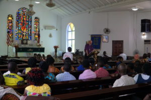 Lecture to the National Council of Churches of Liberia © BQ/Warnecke