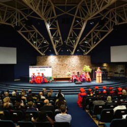 The auditorium during his commencement speech of Thomas Schirrmacher in South Africa © Esther Schirrmacher