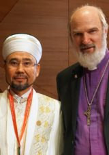 Thomas Schirrmacher with the Grand Mufti of Kazakhstan, Serikbay Oraz © BQ/Martin Warnecke