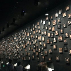 Photo wall with victims of the massacre at the Memorial Hall in Nanjing (China) © BQ/Thomas Schirrmacher