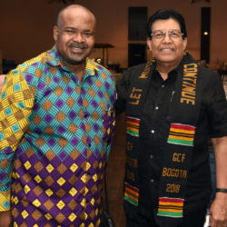 Dr Caseley Essamuah, Secretary of the Global Christian Forum, and Dr Prince Guneratnam © BQ/Thomas Schirrmacher