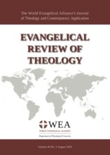 Cover Evangelical Review of Theology
