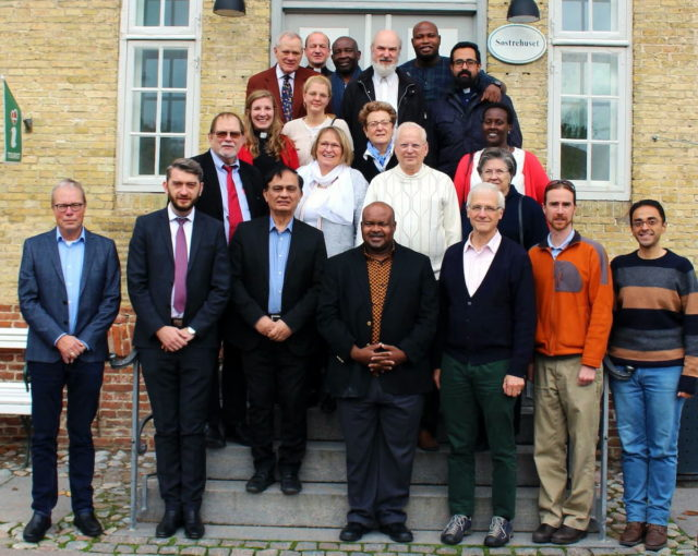 The Youth Commission of the Global Christian Forum with the moderators (board) meeting in Christiansfeld, Denmark, 2019 © BQ/Martin Warnecke